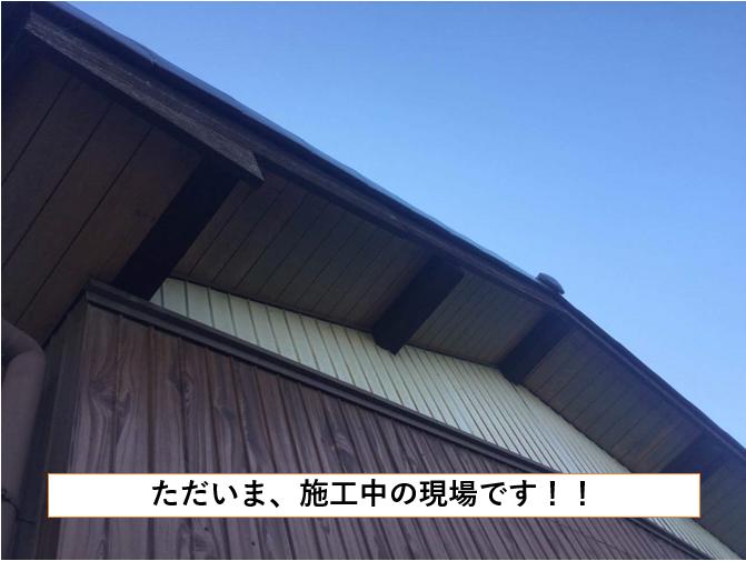 名古屋市緑区 F様邸 軒裏天井塗装【名古屋市緑区 外壁塗装・屋根塗装専門店 ハレペイント】