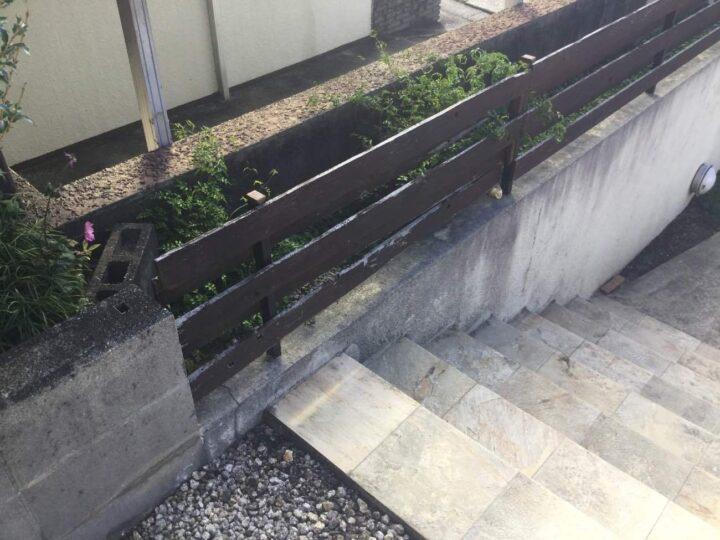擁壁フェンス
