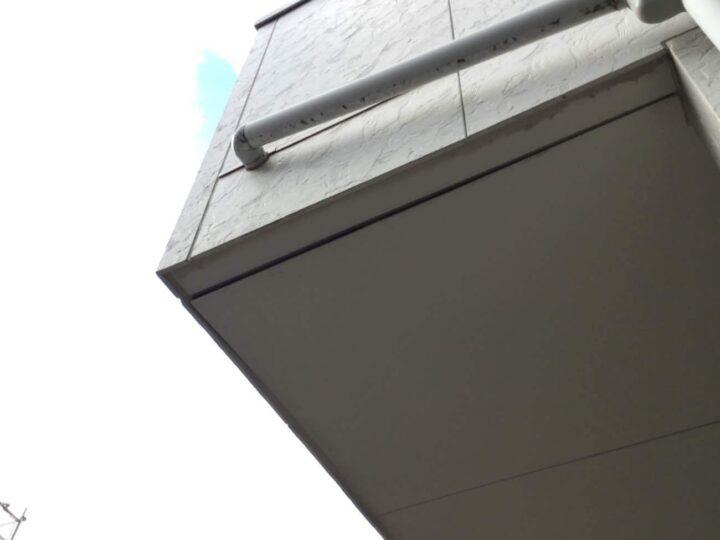 バルコニー軒裏天井補修