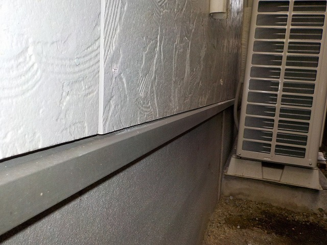 外壁補修(面材下がり部)