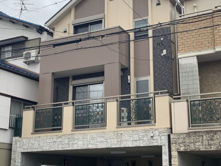 【名古屋市緑区】外壁塗装 F様邸 【名古屋市緑区 外壁塗装・屋根塗装専門店 ハレペイント】