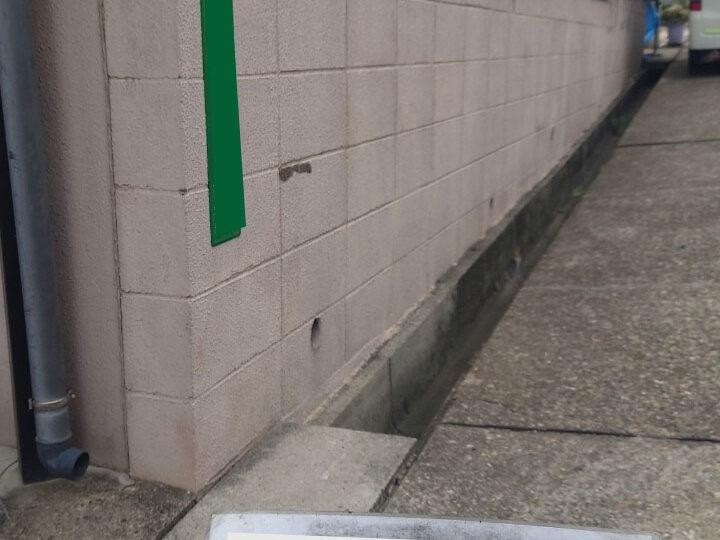 擁壁・基礎塗装