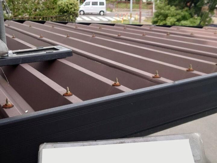 ガレージ屋根塗装
